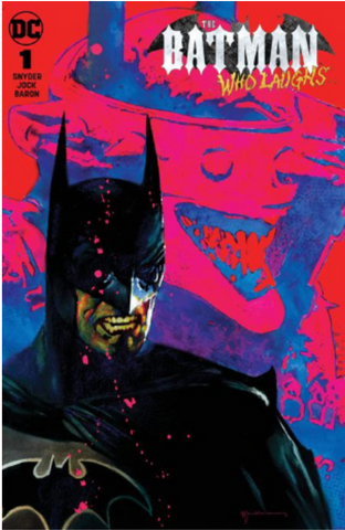 Batman who laughs #1 Sienkiewicz Exclusive Variant 笑 蝙蝠侠 变体