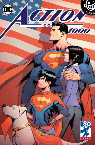 Action Comics #1000 Patric Gleason Variant