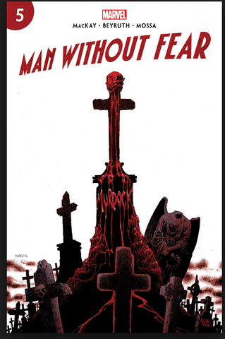man without fear #5 Cover A First Print 夜魔侠