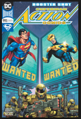 Action Comics #995 Cover A First Print动作漫画