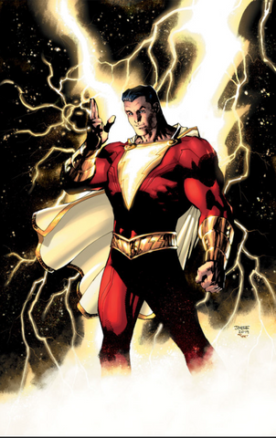 Shazam #4 Convention Exclusive Foil Variant