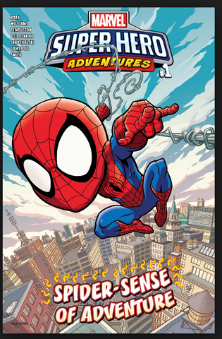 Marvel Super Hero Adventures Spider-Man Spider-Sense of Adventure #1 2019