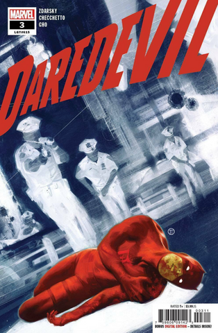 Daredevil #3 Cover A 615 Marvel 2019 夜魔侠