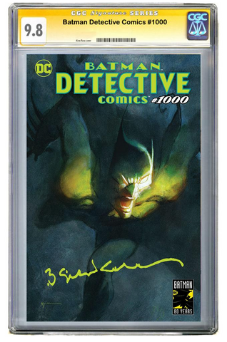 DETECTIVE COMICS #1000 Bill Sienkiewicz EXCLUSIVES VARIANT A CGC9.8 蝙蝠侠 侦探漫画1000 变体