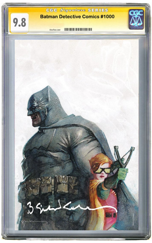 DETECTIVE COMICS #1000 Bill Sienkiewicz EXCLUSIVES VARIANT B CGC Pre Sale 蝙蝠侠 侦探漫画变体