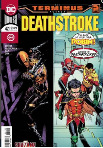 DeathStroke #42 Cover A 丧钟