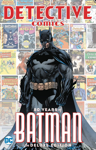 DETECTIVE COMICS 80 YEARS OF BATMAN DELUXE ED HC 侦探漫画 蝙蝠侠80周年纪念合集 硬皮