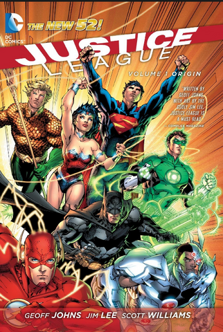 Justice League Vol 1 Origin  正义联盟 1 卷合集
