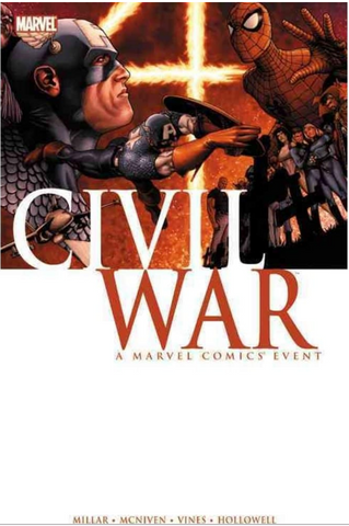 Civil War Paperback 内战合集 软皮