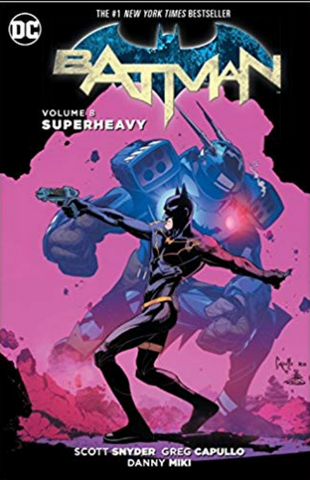 Batman Vol 8 Superheavy Hardcover 蝙蝠侠 8卷合集 硬皮