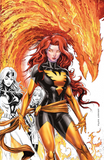 Marvel Jean Grey #1 Variant Signed by Tyler Kirkham 黑凤凰签名变体