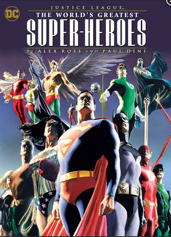 Justice League: The World's Greatest Superheroes by Alex Ross & Paul Dini Paperback 正义联盟 软皮合集