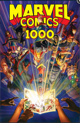 MARVEL COMICS #1000 Alex Ross Regular Cover 漫威1000期普封