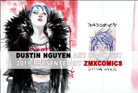Dustin Nguyen 2019 Art Book Set 绘本套装