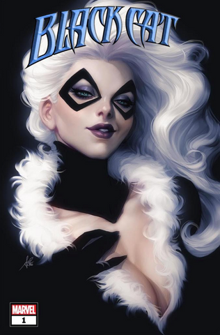Black Cat #1 Artgerm Variant 黑猫变体刘大哥