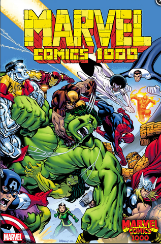 MARVEL COMICS #1000 MCGUINNESS VARIANT 漫威1000期官方变体
