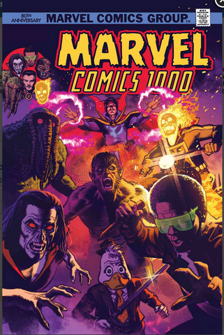 MARVEL COMICS #1000 Smallwood 70s Variant 漫威1000期官方变体