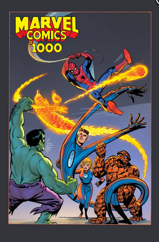 MARVEL COMICS #1000 DITKO HIDDEN GEM Ratio 1:100 Variant 漫威1000期官方比例变体
