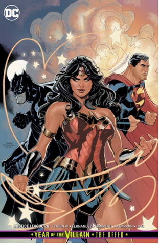 Justice League #28 Variant foil SDCC 2019 exclusive