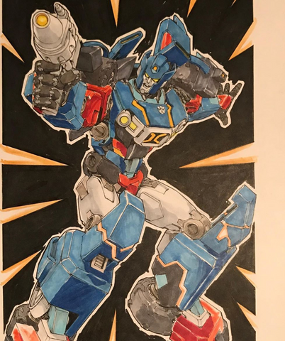 Andrew Griffith (Transformer Artist) Art Commission