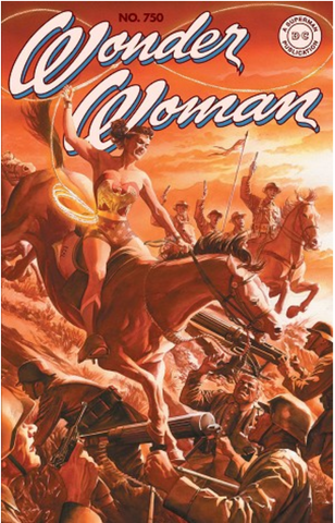 Wonder Woman #750 Alex Ross Variant DC Comics