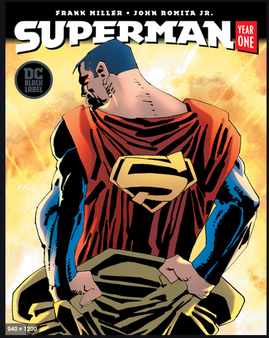 DC Comics Superman Year One #1 Frank Miller Variant Cover 米勒变体