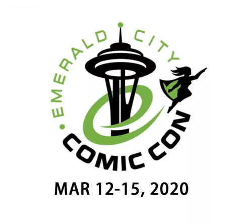 2020 ECCC Art Commission 西雅图漫展定制签绘