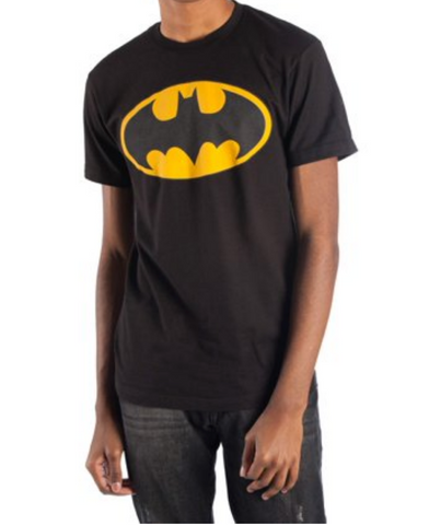 Batman Logo T-Shirt Yellow/Black