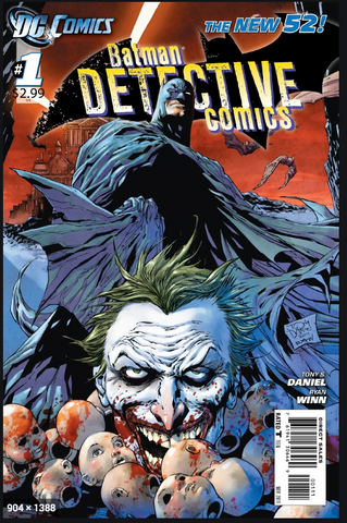 Detective Comics Vol 1 Faces of Death TP Paperback cover 侦探漫画1卷合集 软皮