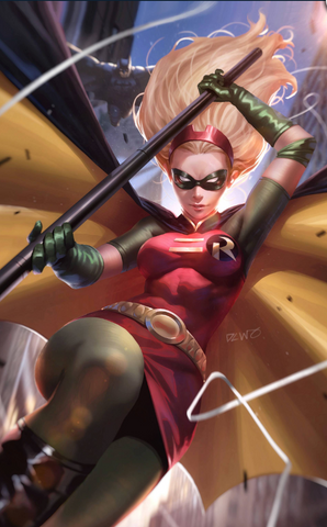 Robin 80th Anniversary 100-page Super Spectacular #1 2000S DERRICK CHEW Variant Cover 变体