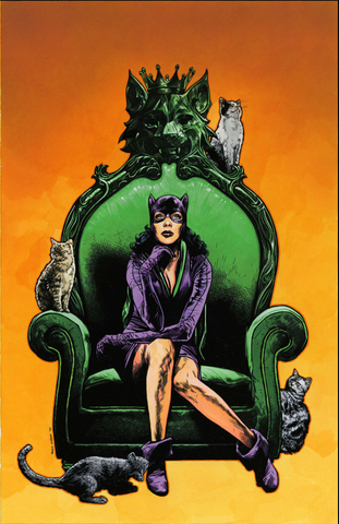 Catwoman 80th-Anniversary 100-Page Super Spectacular #1 1950s variant cover TRAVIS CHAREST 猫女80周年预订变体
