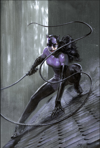 Catwoman 80th-Anniversary 100-Page Super Spectacular #1 1990s variant cover by GABRIELE DELL'OTTO 猫女80周年预订变体