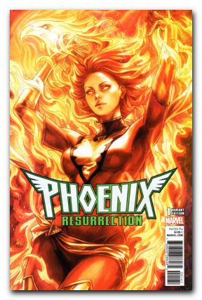 PHOENIX RESURRECTION RETURN JEAN GREY #1 ARTGERM VARIANT