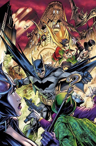 DETECTIVE COMICS #1000 Mike Lilly EXCLUSIVES VARIANT 变体