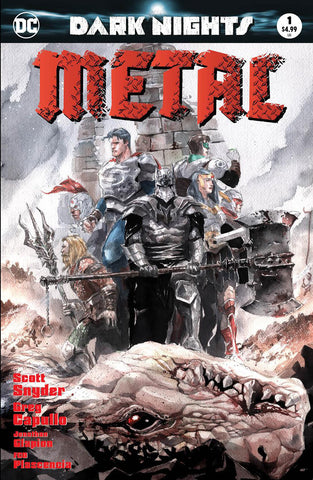 DC DARK NIGHTS METAL #1 ZMX COMICS DUSTIN NGUYEN EXCLUSIVE COLOR VARIANT