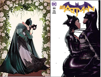 Batman #50 Set of 2  (Cover A + Jorge Jimenez Exclusive Variant)