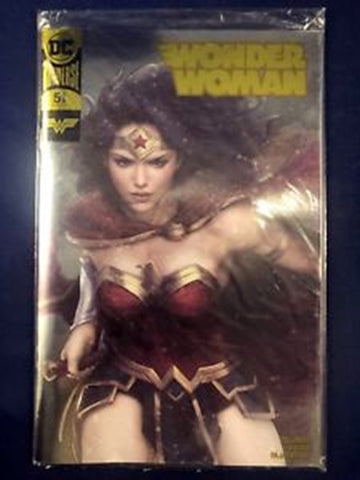 Wonder Woman #51 Gold Foil Convention Exclusive Variant DC Comics