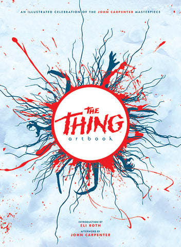 Printed in Blood The Thing 35th Anniversary Art Book + Exclusive Print & Sketch