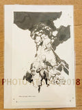 "Mike Mignola Original Art BPRD: Long Death Trade Cover Ink 11""x17"""