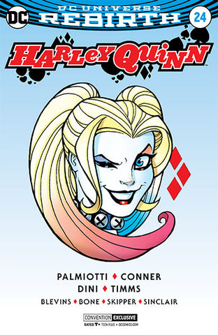 HARLEY QUINN #27 Silver Foil Convention Exclusive