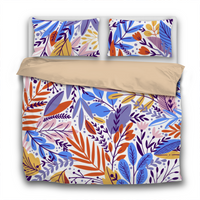 Duvet Set - 3pc Cover + Pillowcases - Ex5 Exotic Botanicals