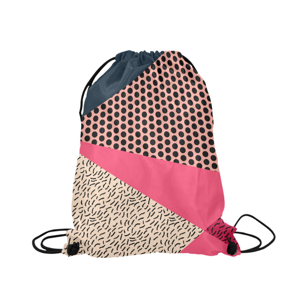 Berry Memphis Drawstring Bag