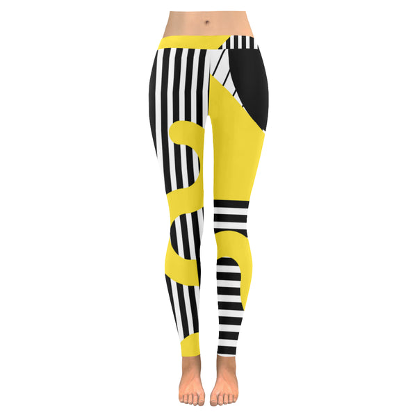 Bigby All-Over Low Rise Leggings