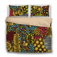 Duvet Set - 3pc Cover + Pillowcases - Scandinavian Print BF10