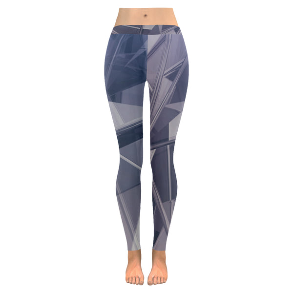 Chrysler All-Over Low Rise Leggings