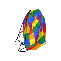 Love is Love Large Drawstring Bag