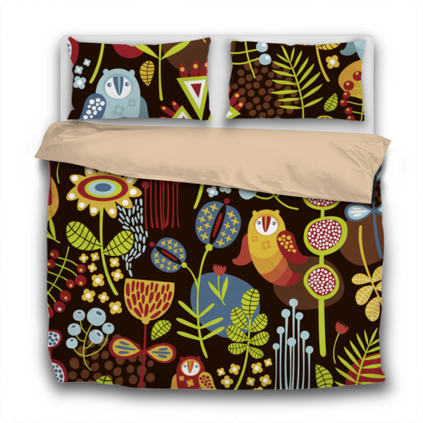 Duvet Set - BF1 Scandinavian Print - 3pc Cover + Pillowcases