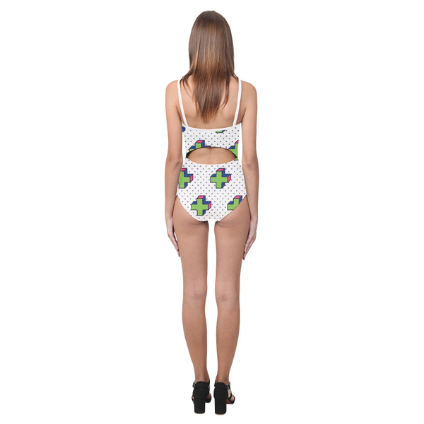 Laguna Open Back Skinny One Piece Swimsuit