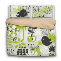 Duvet Set - BF17 Scandinavian Print - 3pc Cover + Pillowcases