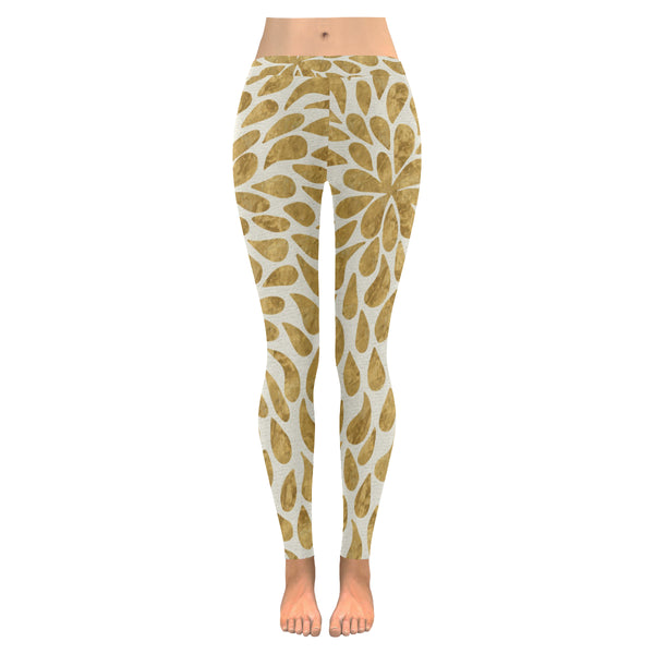 Flora All-Over Low Rise Leggings